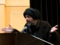 [MSA-PSG 2012] Continuing on the Straight Path (Closing Speech) - H.I. Syed Abbas Ayleya - English